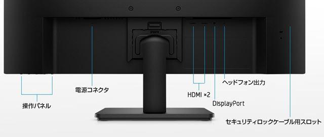 HP V28 4Kインターフェース
